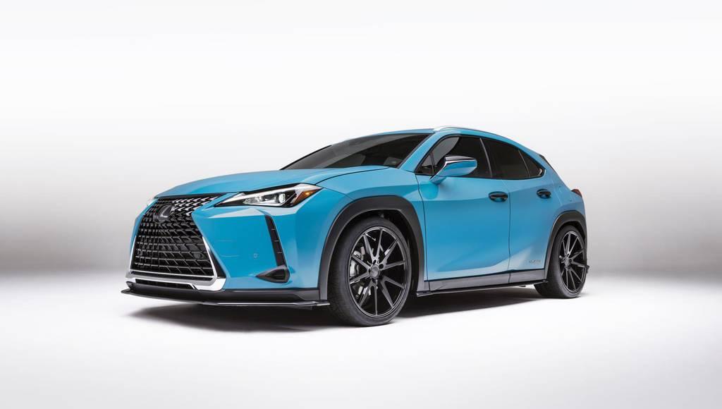 Lexus UX 250h concept announced