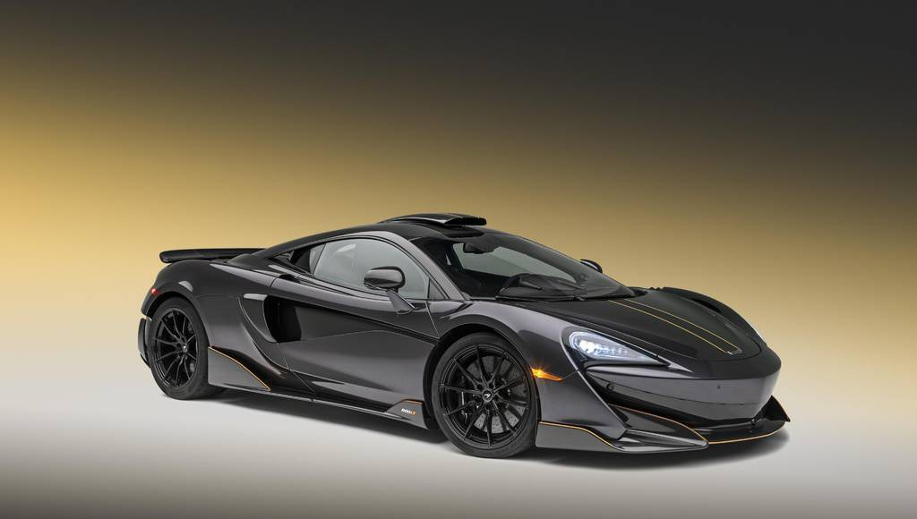 McLaren 600LT in Stealth Grey by MSO introduced