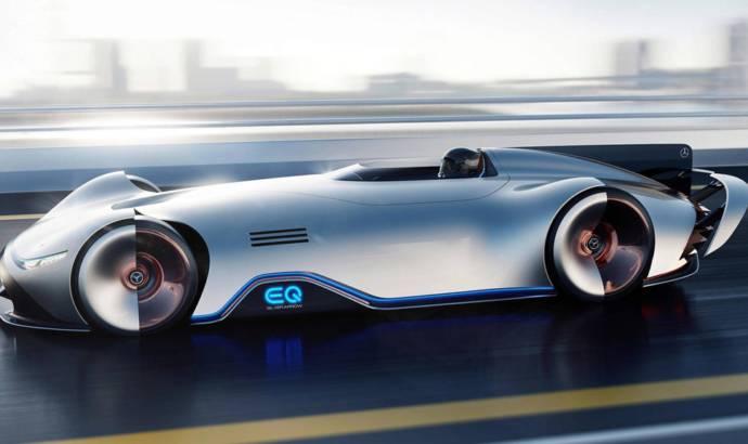 Mercedes-Benz Vision EQ Silver Arrow - the future of sportscar