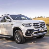 Mercedes X-Class V6 version Uk prices announced