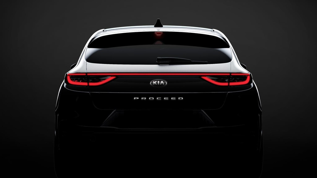 New Kia ProCeed design preview