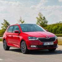 New details and pictures of the 2018 Skoda Fabia facelift