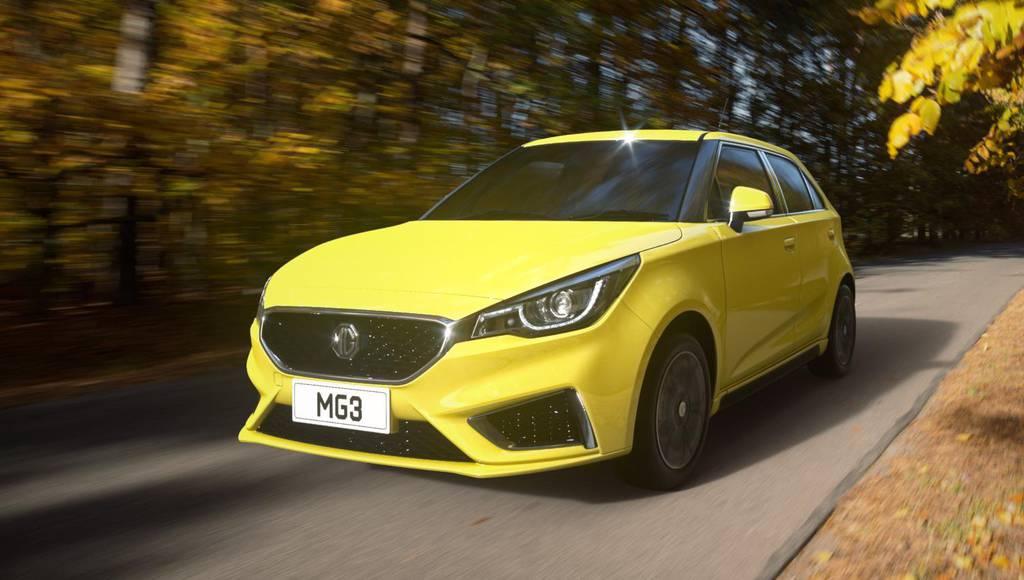 Revised MG3 debuts in UK