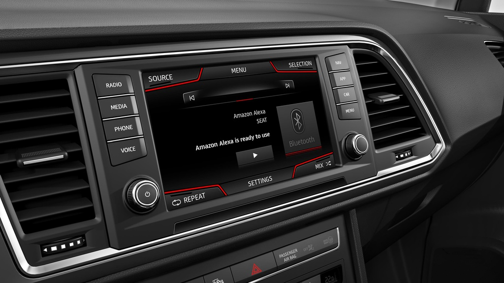Seat launches Amazon Alexa in its cars