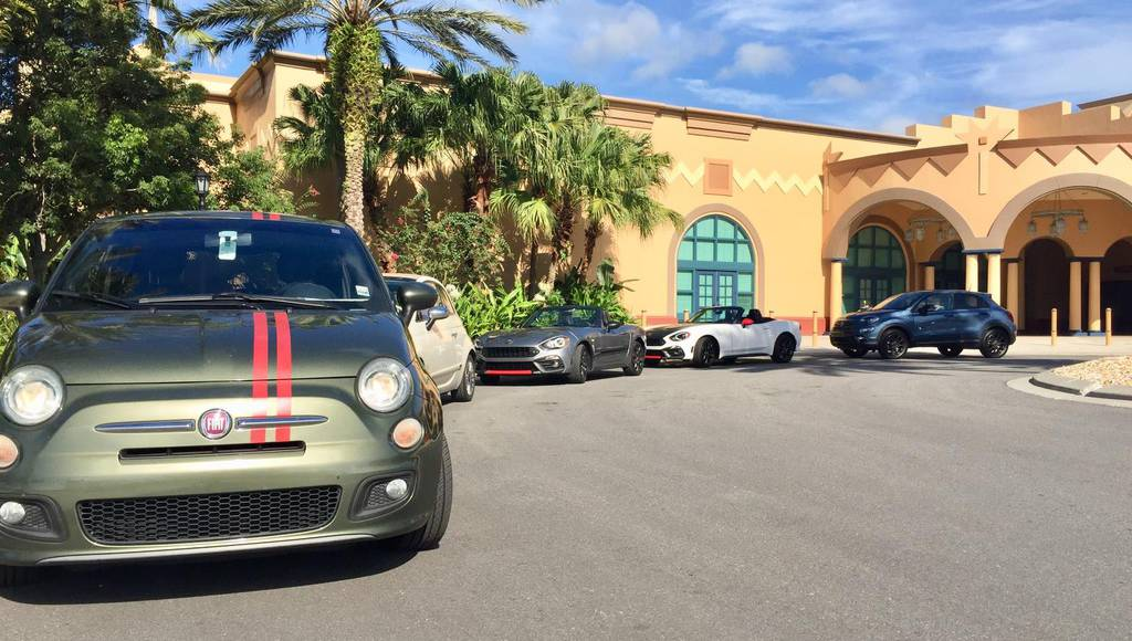 US Fiat fans celebrate 35th annual Freakout