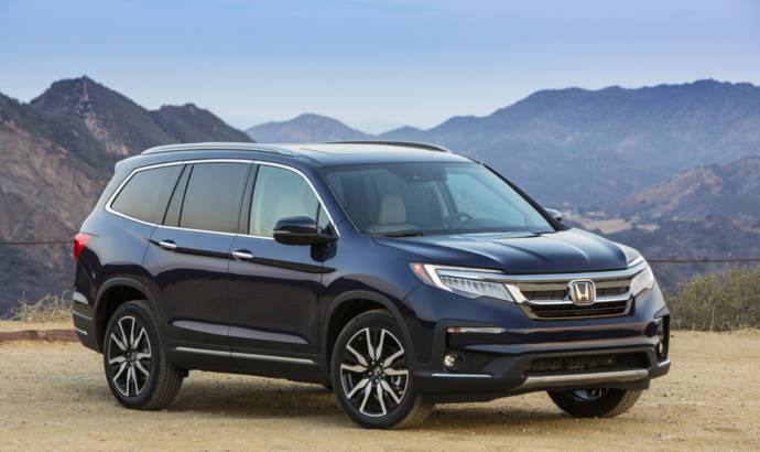 2019 Honda Pilot US pricing announced
