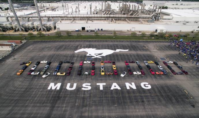Ford celebrates the 10 millionth Mustang produced