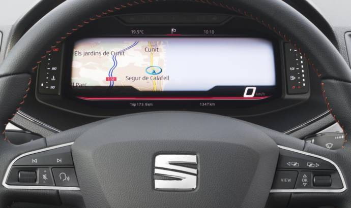 Seat Arona and Ibiza can be ordered with Digital Cockpit