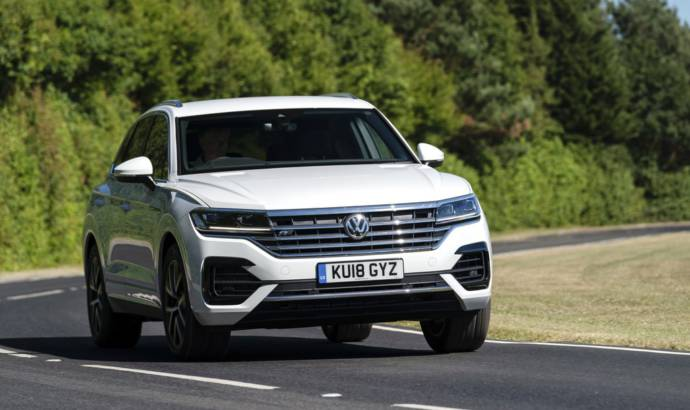 Volkswagen Touareg gets new TDI engine in the UK