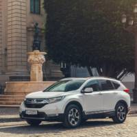 2019 Honda CR-V Hybrid official figures