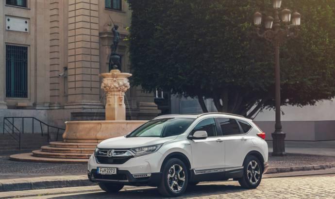 2019 Honda CR-V Hybrid official figures