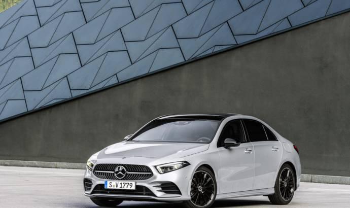 2019 Mercedes A-Class Sedan UK pricing announced