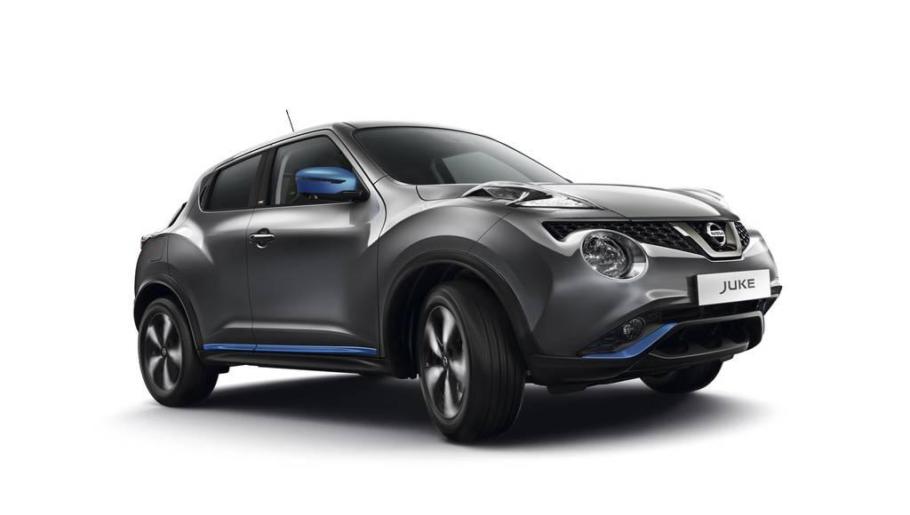 2019 Nissan Juke updated in UK