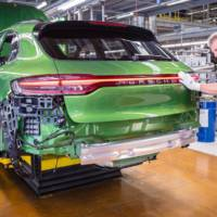 2019 Porsche Macan facelift production started in Leipzig factory
