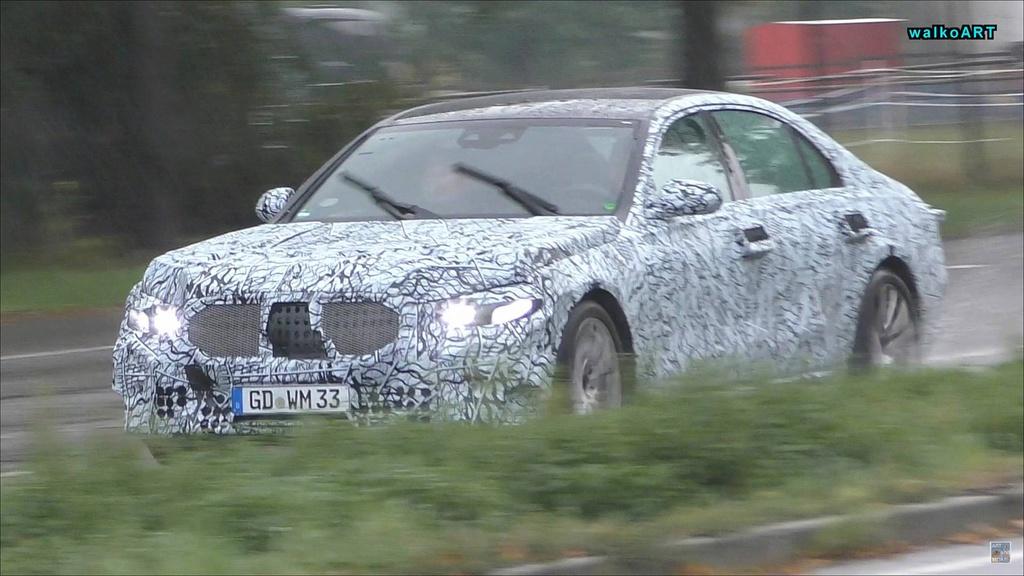2020 Mercedes-Benz S-Class - spy video