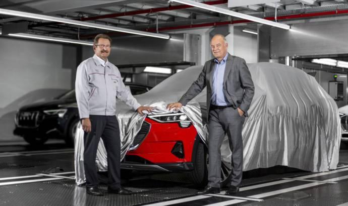 Audi e-tron electric SUV enters production