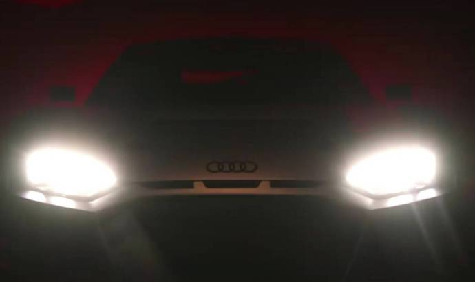 Audi is teasing a sports car prior to Paris reaveal
