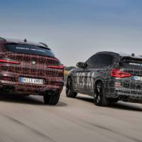 BMW X3 M and X4 M - official camouflaged pictures