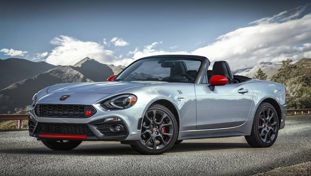 Fiat 124 Spider new options