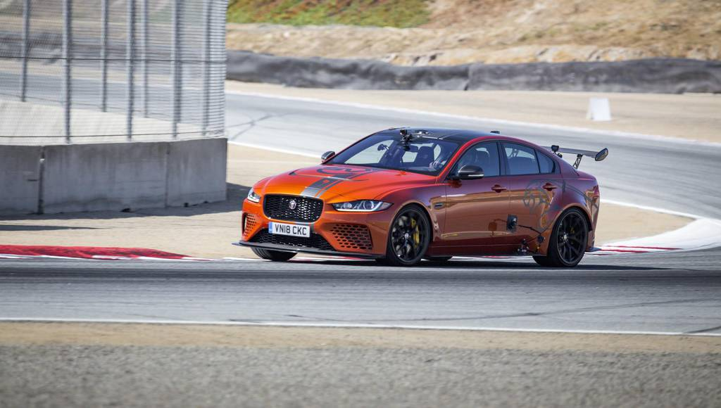 Jaguar XE SV Project 8 sets lap record on Laguna Secad