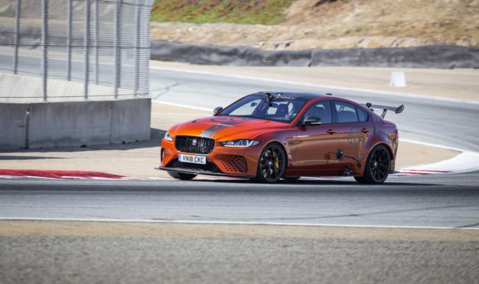 Jaguar XE SV Project 8 sets lap record on Laguna Secad