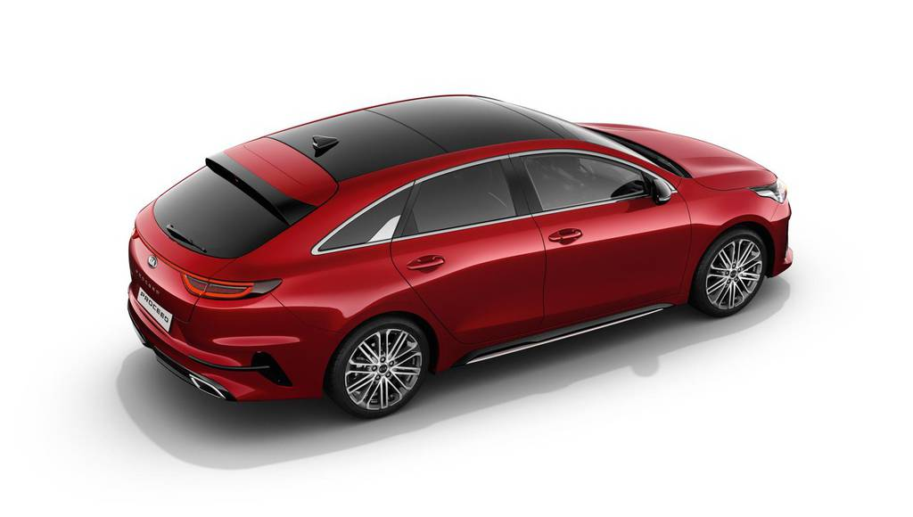 Kia Proceed official images and details