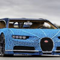 Lego built a Bugatti Chiron replica which is drivable