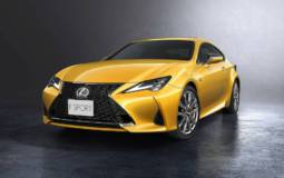 Lexus unveiled the 2019 RC facelift