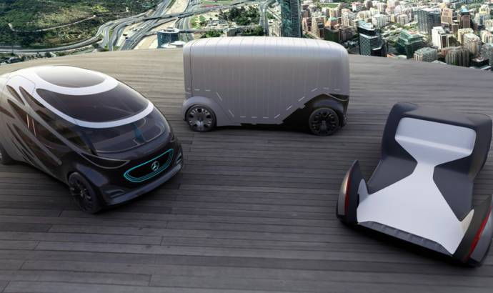Mercedes-Benz Vans launches the Vision URBANETIC concept