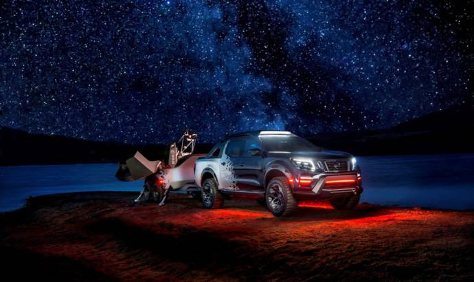 Nissan Navara Dark Sky Concept unveiled