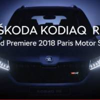 Skoda Kodiaq RS: new details emerge