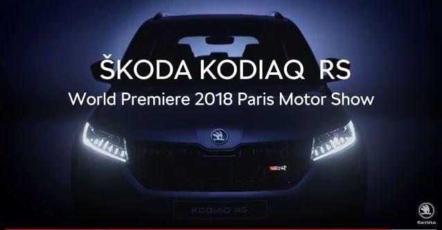 Skoda Kodiaq RS: new details emerge