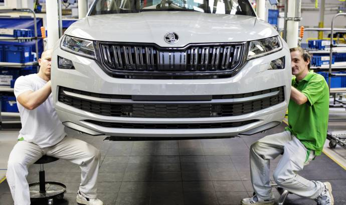 Skoda Kodiaq reaches 250.000 units milestone