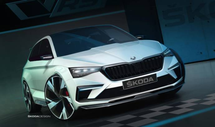 Skoda Vision RS Concept unveiled