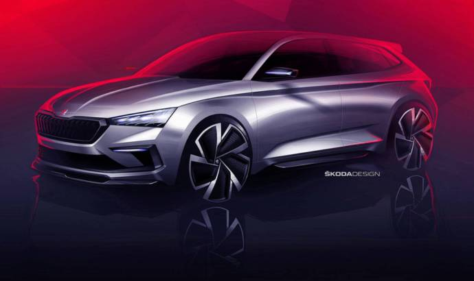Skoda Vision RS - first design sketches