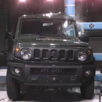 Suzuki Jimny gets only 3 stars EuroNCAP