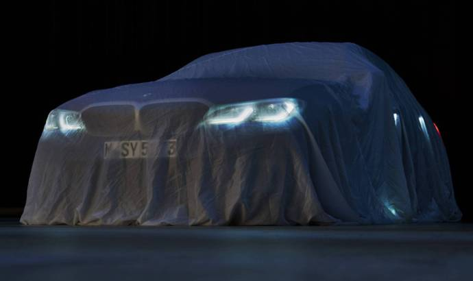 The new BMW 3 Series will be unveiled on October 2 during the Paris Motor Show