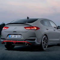 This is the 2019 Hyundai i30 Fastback N - 275 HP and 6.1 seconds for the not to 100 km/h