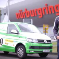 Volkswagen Transporter sets van record time on Nurburgring