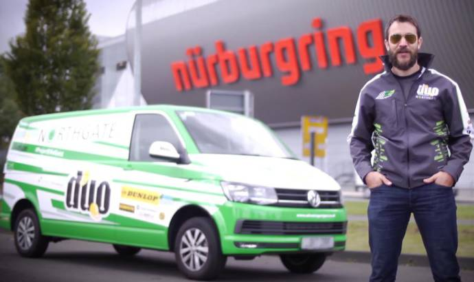 Volkswagen Transporter sets van record time on Nurburgring