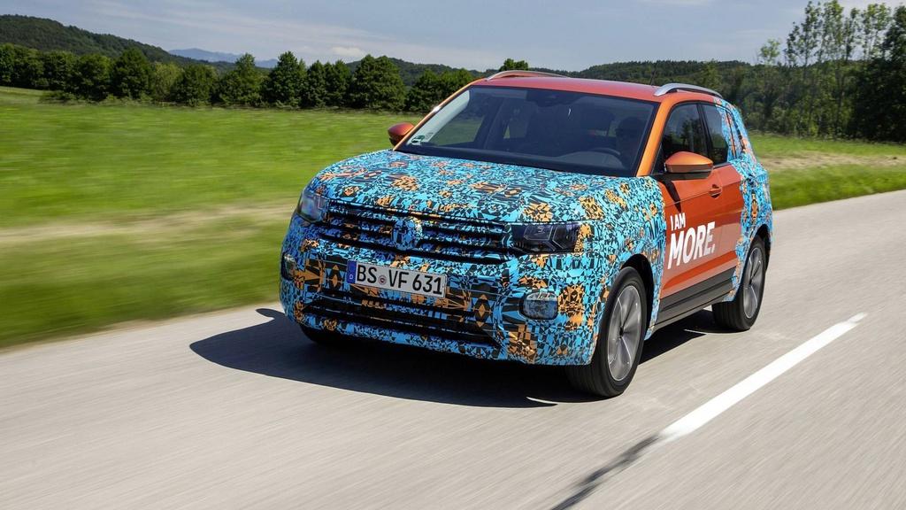 Volkswagen unveiled a new T-Cross teaser