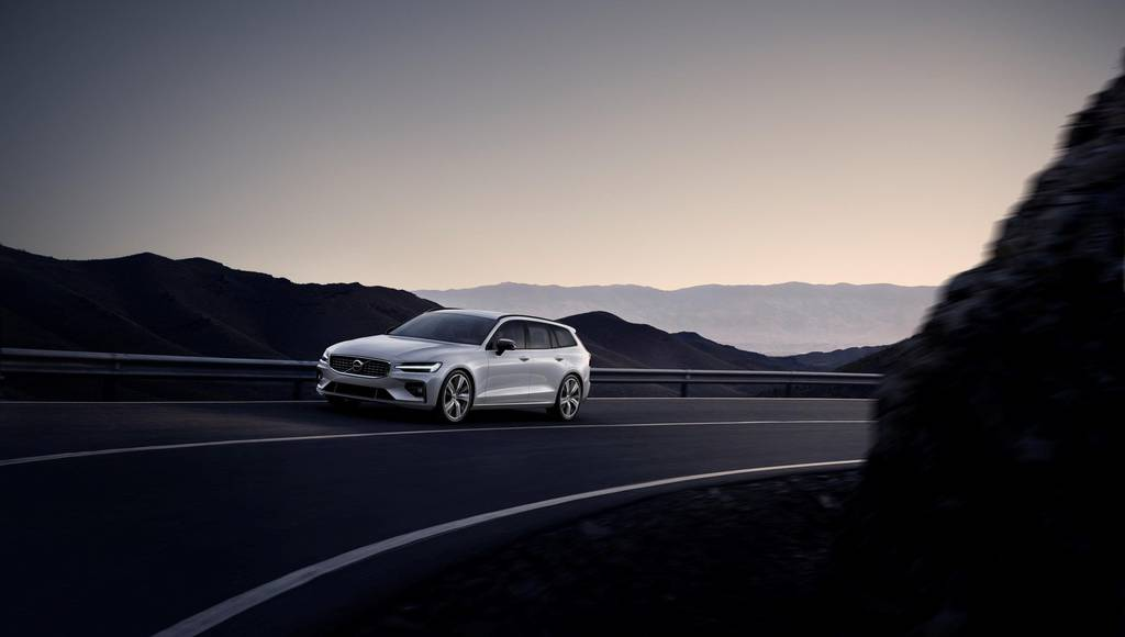 Volvo V60 is now available in R-Design version
