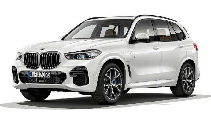 2019 BMW X5 xDrive45e - official pictures and details