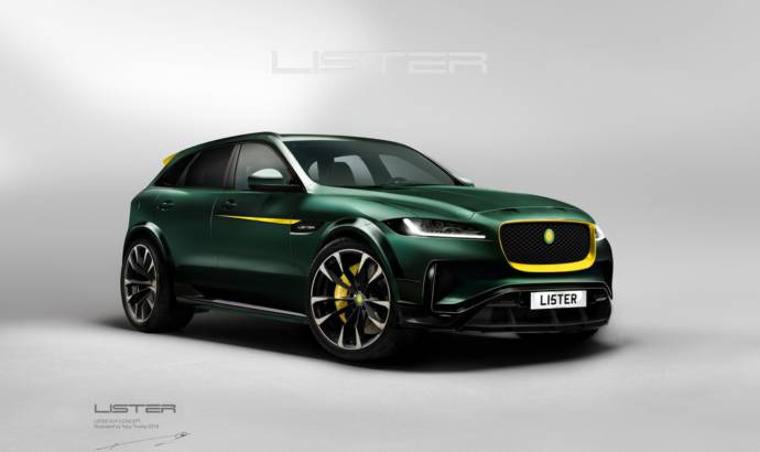 Lister LFP to become the fastest SUV on the planet