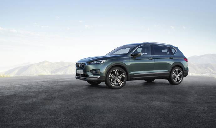 Seat Tarraco official photos and details