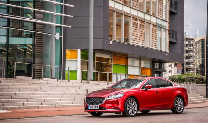 2018 Mazda6 awarded five star rating by EuroNCAP