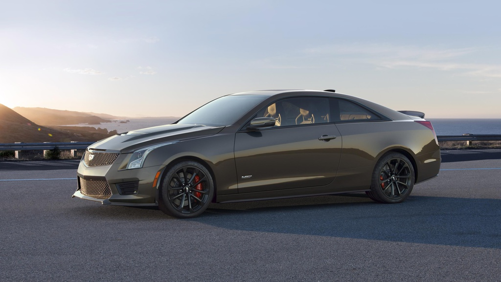 Cadillac ATS-V and CTS-V receive Pedestal Edition