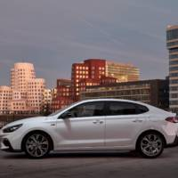 Hyundai unveiled the i30 Fastback N Line