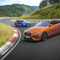 Jaguar XE SV Project 8 with Track Pack available as a taxi ride on Nurburgring