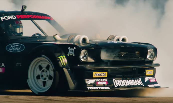 Ken Block launches Forza Horizon 4 with a special video